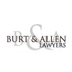 Burt & Allen Lawyers Banner
